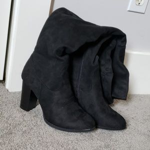 Qupid thigh-high boots